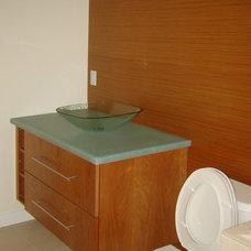 Contemporary Bathroom The Zenity Bathrooms