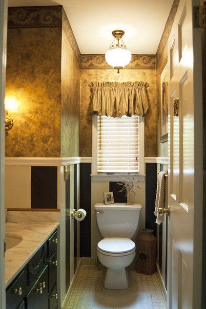 Traditional Bathroom by Adrienne DeRosa