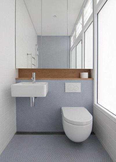 come sfruttare al massimo ogni centimetro del bagno? - Bagni Piccolissimi Moderni