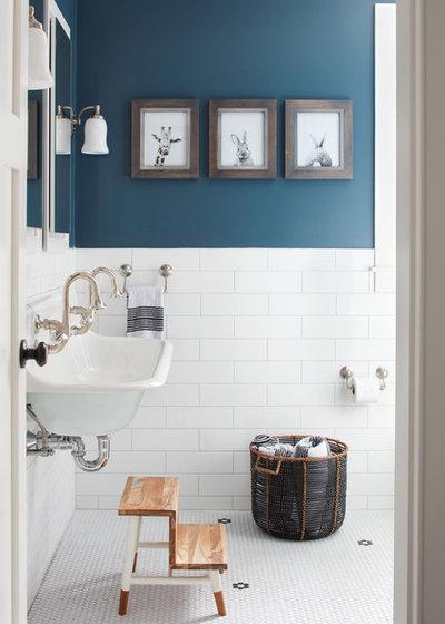 Country Bathroom by Kristina Crestin Design