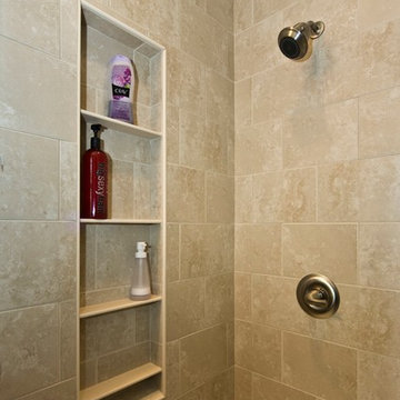 This shower is understated yet elegant and very useable.