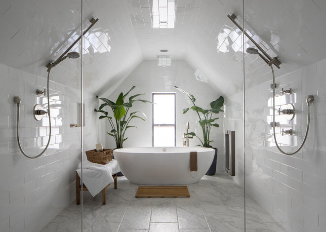 Contemporary Bathroom by Design Platform