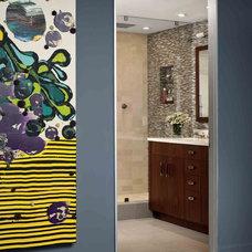 Contemporary Bathroom by Thom Lindsley
