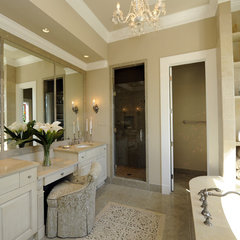 traditional bathroom by Montgomery Roth Architecture & Interior Design