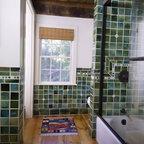 Custom Design Details Eclectic Bathroom Boston By
