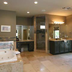 contemporary bathroom by Modern Craft Construction, LLC