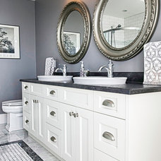 farmhouse bathroom by Morgan Turner Photography