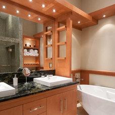 Contemporary Bathroom by Ballard + Mensua Architecture