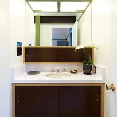 Midcentury Bathroom by Lander Design