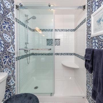 Thorofare Hall Bath - Cobalt Blue Vanity