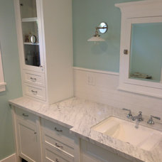 Craftsman Bathroom by AAA Development, Inc.