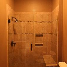 Traditional Bathroom by J.C.D. Construction Services L.L.C.