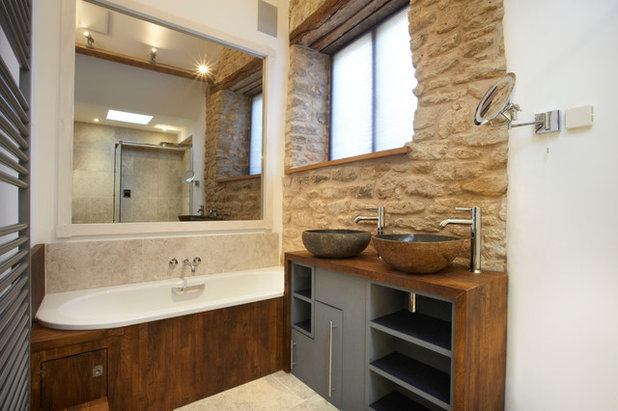 Traditional Bathroom by Hart Design And Construction