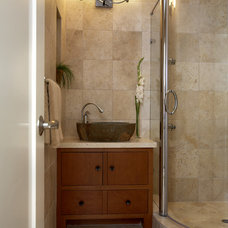 asian bathroom by Mahoney Architects & Interiors