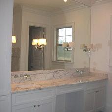 Contemporary Bathroom by Rock Tops LLC