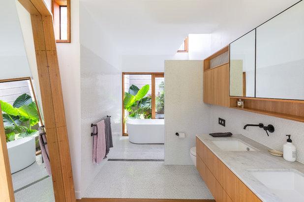 Modern Bathroom by Tim Casagrande Photography