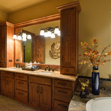 Rustic Bathroom by Housing and Building Association