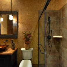 Rustic Bathroom by Housing & Building Association of Colo. Springs