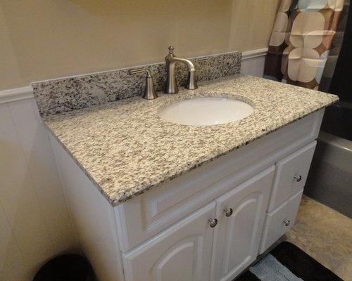 Bathroom Sinks Granite Countertops tiger skin granite | houzz
