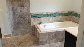 tile bath