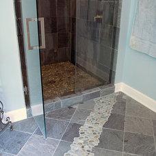 Transitional Bathroom by Carlson's Flooring