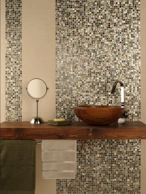mosaic tiled bathroom bathrooms 13772
