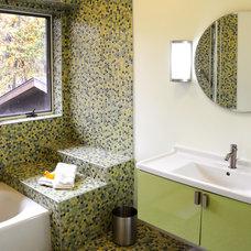 Contemporary Bathroom by JG Development, Inc.