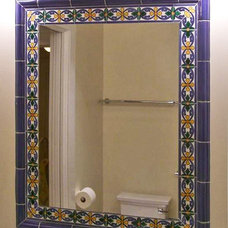Mediterranean Bathroom by James Hill Architect
