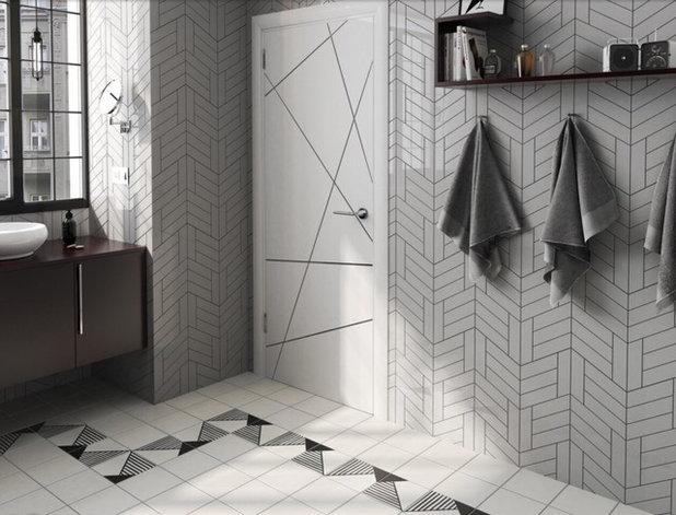 Contemporary Bathroom by Tile Bazaar