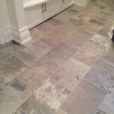 Traditional Floor Tiles by DeGraaf Interiors