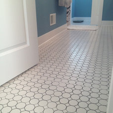 contemporary tile by DeGraaf Interiors