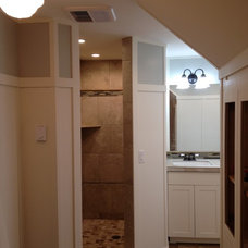 Traditional Bathroom by Andy Johnston Construction LLC