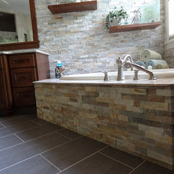 Tile - Shower - Contact DeGraaf Interiors for more information