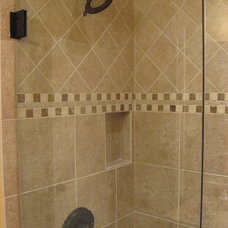 Traditional Tile by DeGraaf Interiors
