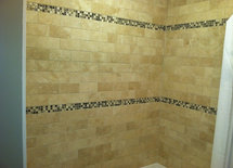 What is the name and color of the 3 X 6 subway tile?