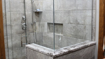 Tile Shower with Linear drain
