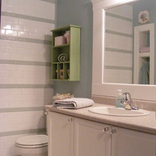 Eclectic Bathroom by Chris  Kauffman