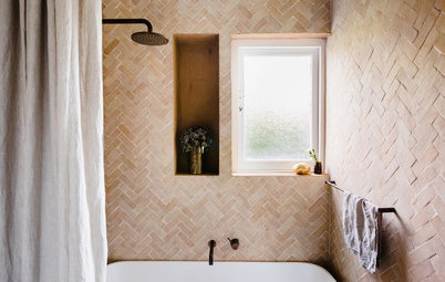 10 Zellige Tile Styles That'll Add Character to Your Bathroom