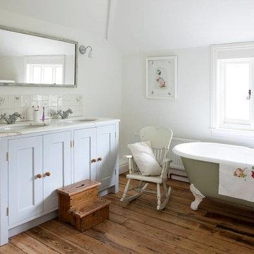 Timber Bathroom Vanity cabinets