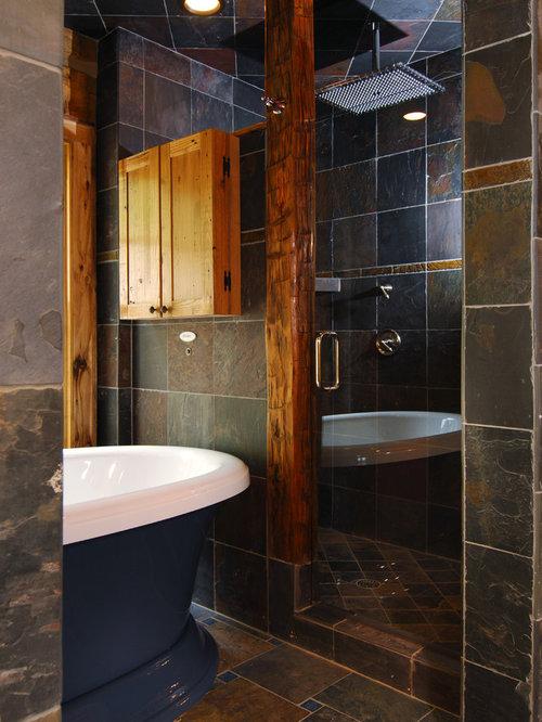 Fotos de baños  Diseños de baños pequeños con baldosas y ...