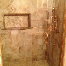 Traditional Bathroom by WVacca Construction  Design