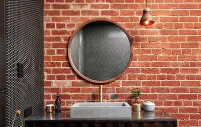 Et si on mettait de la brique dans la salle de bains ?