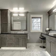 Craftsman Bathroom Design Ideas Remodels Photos With An