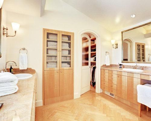 Built-in Linen Cabinet | Houzz