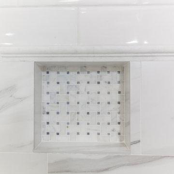 Timeless Marble Master Bathroom