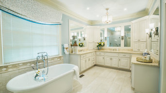 Timeless Master Bathroom-Brentwood
