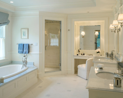 Powder blue bathroom ideas pictures remodel and decor for Powder blue bathroom ideas