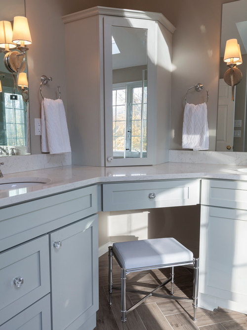 Split Double Vanity Houzz