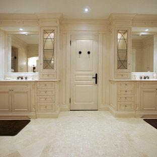 White Master Bathroom Houzz