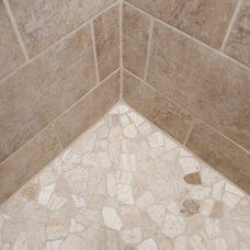 Traditional Bathroom by Country Creek Builders Inc